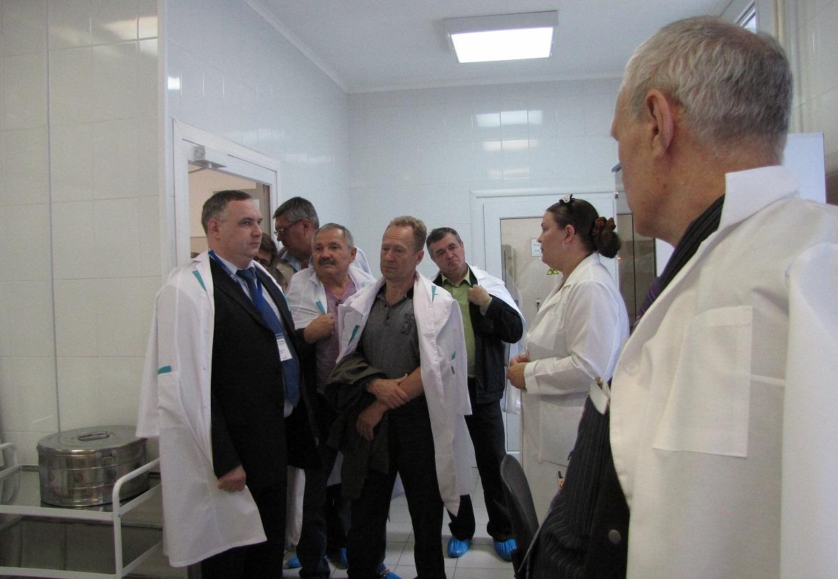 Экскурсия в санитарно-биологическую лаборатория Центра контроля качества
