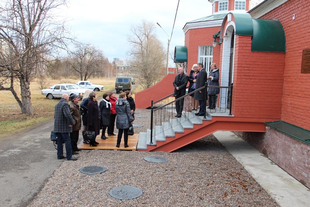 Впервые с момента открытия музея водопровода его гостями стали работники компании «КрасКом».