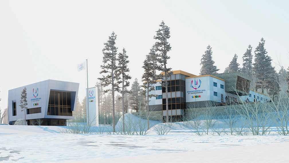 Напомним, что в 2017-2018 годах компания «КрасКом» построила 8548,6 п.м. водопроводных сетей и 3348,9 п.м. сетей канализации для Центрального стадиона, спортивного комплекса «Платинум Арена Красноярск», стадиона «Енисей», «Академии зимних видов спорта» и кластера «Радуга». В соответствии с требованиями Международной федерации университетского спорта (FISU) для станции искусственного оснежнения был проведен отдельный магистральный водовод, чтобы из красноярской водопроводной воды можно было делать в необходимом количестве снег для лыжного стадиона и лыжных трасс всех спортобъектов, расположенных на Николаевской сопке.