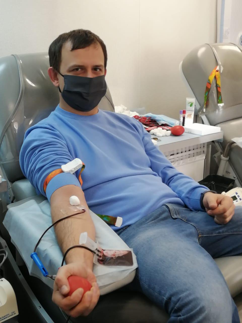 Сдал кровь. Life +3